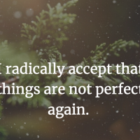 Radical acceptance- 10 things to do when winter gets you down